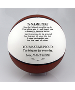 Personalized Regulation Basketball To My Daughter, Son, Granddaughter, G... - $59.95