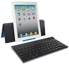 Logitech Bluetooth Tablet Keyboard with Pouch & Stand iPad iPad 2 iPad 3rd Gen. - $56.54