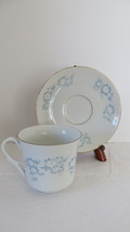 Montgomery Ward Fine China Danube Pattern Teacup & Saucer - $9.49