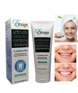Emage Natural Activated Charcoal Teeth Whitening Toothpaste Fresh Mint 1... - $10.98