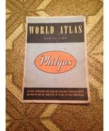 Vintage Rare 1944 WWII Philgas World Atlas World Edition - $24.74