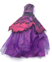 Disney Descendants 2 Doll Clothes Royal Yacht Ball Mal Purple Gown Dress Only - $11.09