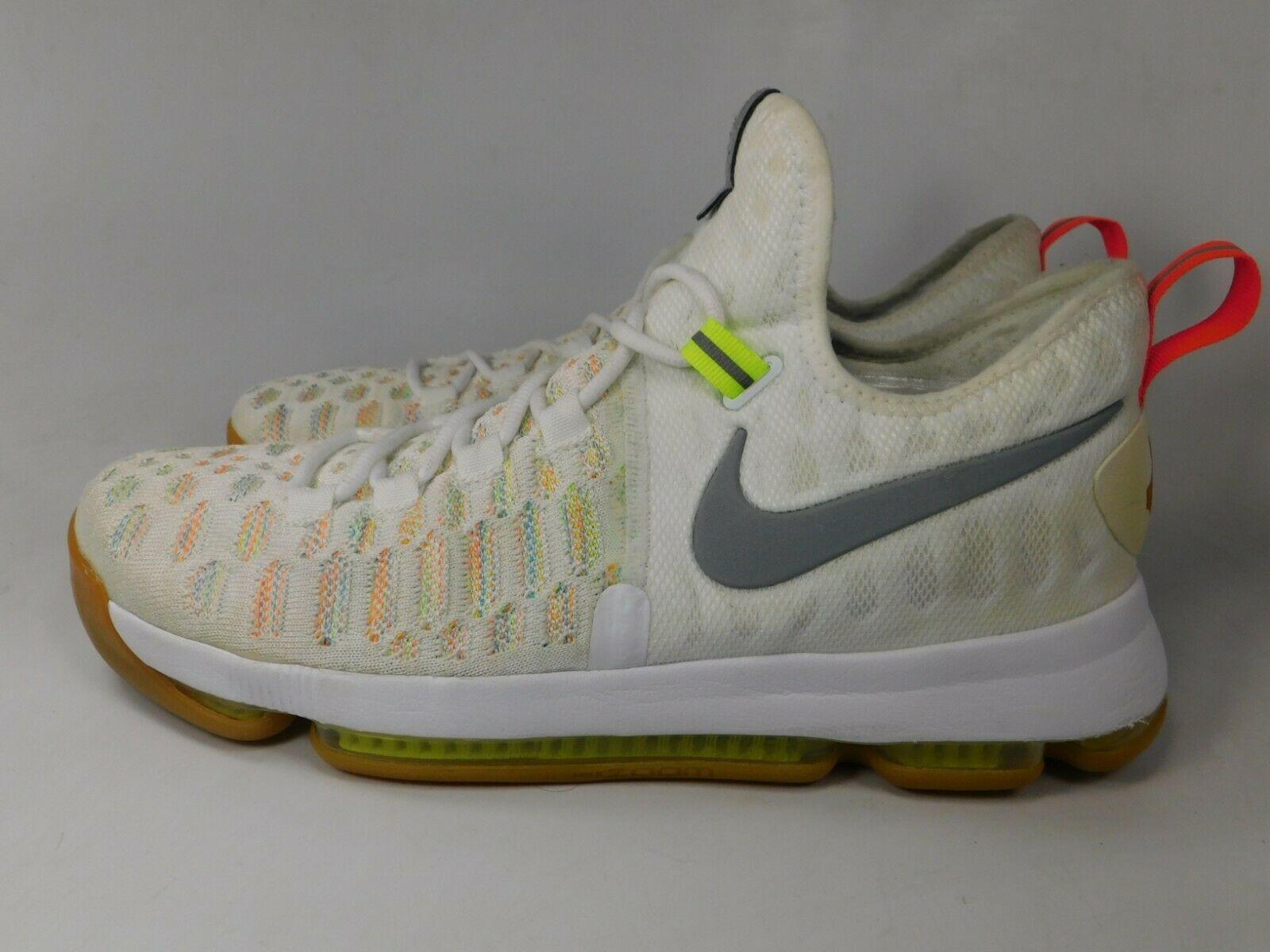 Nike Zoom KD 9 IX Size US 10 M (D) EU 44 Men's Basketball Shoes Multi 843392-900 image 3