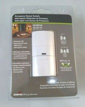 Cooper Wiring Device White Occupancy Sensor Switch (Automatic On) 600W/VA - $24.99