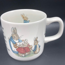 Wedgwood Peter Rabbit Mug Cup Vintage Warne Beatrix Potter Etruria Barlaston Kid - $25.74