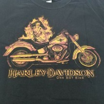 Harley-Davidson Fond Du Lac Wisconsin Black Short Sleeve T-Shirt Men's L... - $18.88