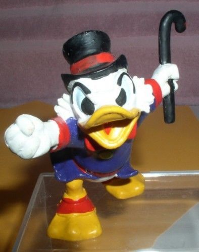 Uncle Scrooge dated 1988 numbered  West Germany  PVC Disney Figurine