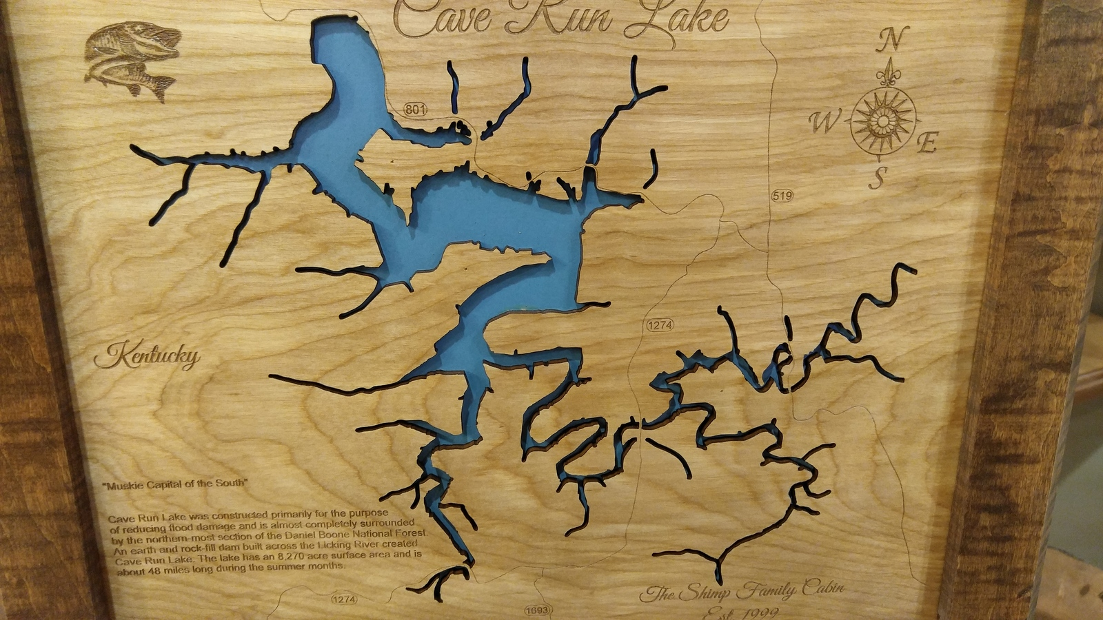 Cave Run Lake, Kentucky - Laser Cut Wood Map and 50 similar ... Cave Run Lake Map on cave run fishing, cave run camping, dale hollow reservoir map, cumberland river map, cave lake fishing, cave lake ky, red river gorge climbing map, the land between lakes map, cave run zilpo, cave run marina, cave run multiplication, daniel boone forest map, ohio river map, cumberland falls map, united states map,