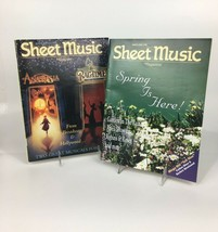 Sheet Music Magazine 1998 Standard Piano/Guitar Lot Of 9 Complete Year - $24.70
