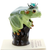 Hagen-Renaker Miniature Tree Frog Figurine Birthstone Prince 05 May Emerald image 2