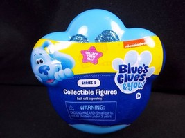 Blue's Clues & You collectible mystery figure blind mini paw pack glitter pads - $6.26