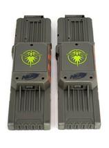 x2 Nerf N-Strike Firefly 18 Round Max Dart Gun Magazine Clip Blue Light ... - $24.95
