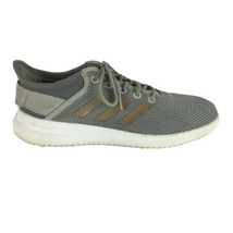 Adidas Womens Cloudfoam QT Flex Running Shoes Size 7.5 Gray - $25.58