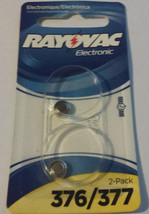 Sale Brand New - Rayovac Battery 2 pack 376 and 377 - $4.94