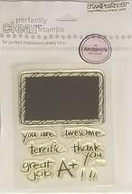 Stampendous Chalk Board Stamp Set #SCC241 - $4.99