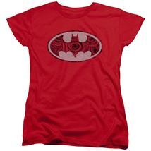 Batman - Rosey Signal Short Sleeve Women's Tee Shirt Officially Licensed... - $20.99+