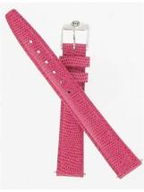 Gucci 14mm Lizard Grain Pink 6500L Silver Tone Buckle Watch band 900.14632 - $75.00