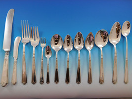 Princess Patricia by Durgin Gorham Sterling Silver Flatware Set Service ... - $8,995.00