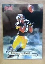 Hines Ward RC 1998 Fleer Brilliants Chrome Rookie Card#103 MINT?Steelers... - $19.79