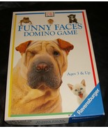 Funny Faces Domino Game-Ravensburger - $16.00