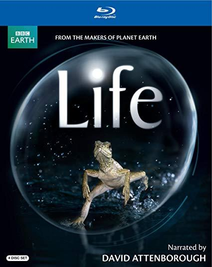 BBC Earth: Life - 4 Disc Blu-ray