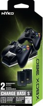 Nyko Charge Base S - 2 Port Controller Charger with 2 (Disc|Xbox 360) - $3,534.24