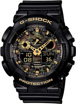 Casio G Shock Watch Camouflage Men' S Watch Ga 100cf-1a9 - $344.67