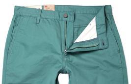 NEW LEVI'S 511 MEN DESIGNER DENIM SLIM FIT STRAIGHT LEG JEANS  GREEN 1315-10006 image 3