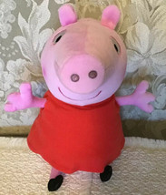 Fisher Price Hug 'n Oink PEPPA PIG - Interactive Plush, Oinks & Giggles ... - $14.85