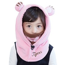 Leories Kids Winter Windproof Cap Thick Warm Face Cover Adjustable Ski H... - $28.04