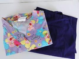 site of scrubs top & pants medium strawberry shortcake - $15.79