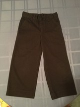 Boys - Size 5 -Austin Trading Co. pants - black khaki uniform - $4.90