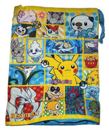 Pokemon Generation 5 Pokemon Center Drawstring Bag * Nintendo * Anime - $11.88