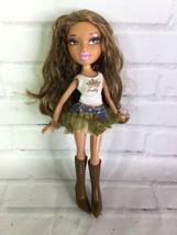 MGA Bratz Talking Yasmin Doll With Outfit No Base Hispanic Latina Brown ... - $35.64