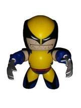Marvel Mighty Muggs Wolverine X-Men Classic Suit 2008 Hasbro 6 Inches - $5.93