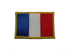 France Country Iron On Patch Wholesale lot of 3 - $22.00