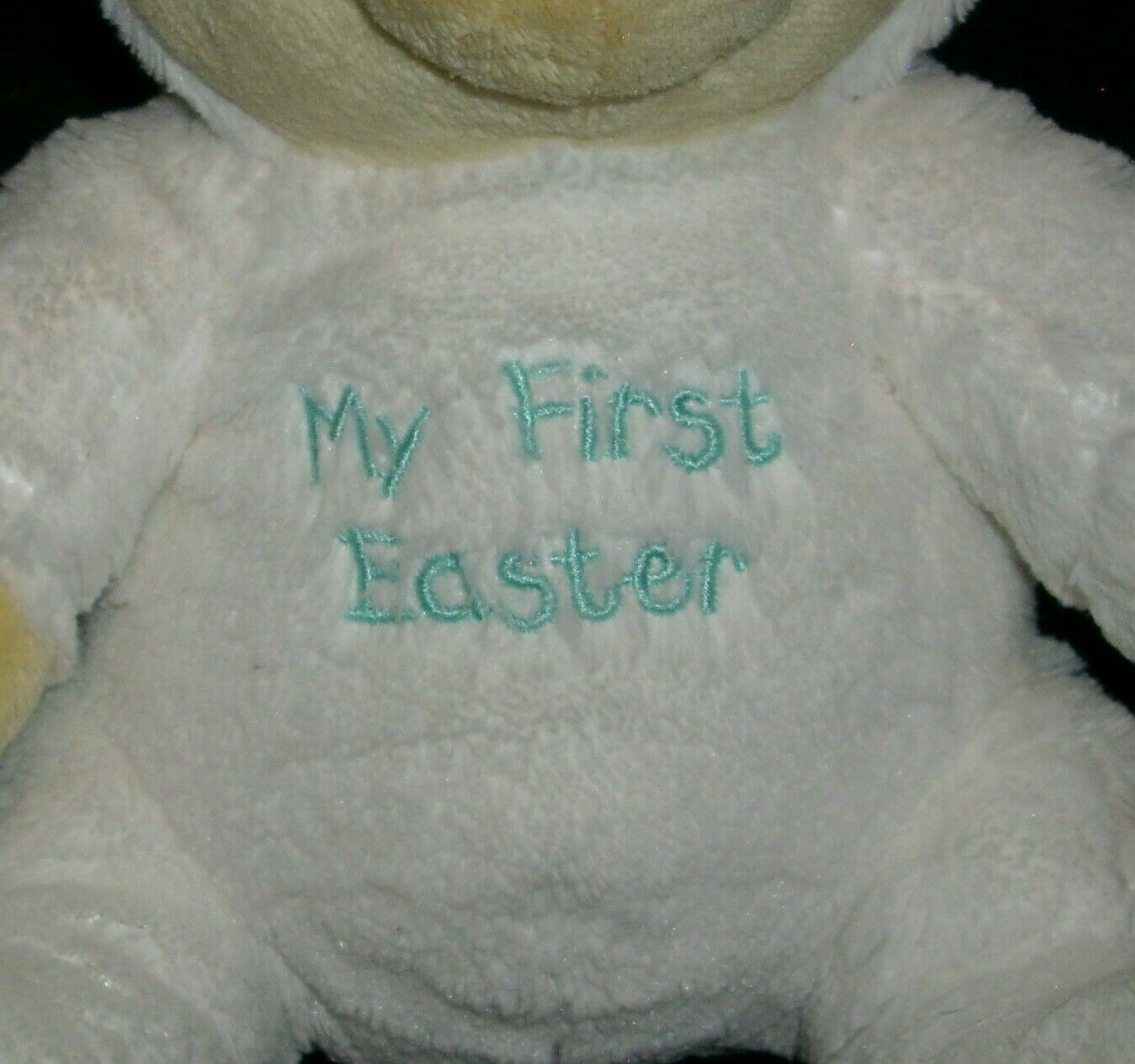 """9"""" MY FIRST EASTER BUNNY WINNIE THE POOH DISNEY STUFFED ANIMAL PLUSH TOY SOFT image 2"""