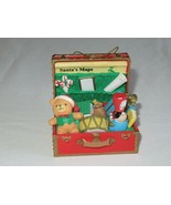 Santas Best Santas Suitcase Toys Maps Chest Box Trunk Christmas Charmer ... - $9.99