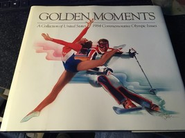 1984 Golden Moments Olympic Book Usps - $25.00