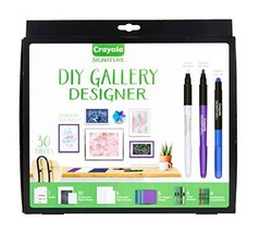 Crayola DIY Gallery Wall Art Set & Origami Kit, Craft Kit, Over 30Piece,... - $21.03