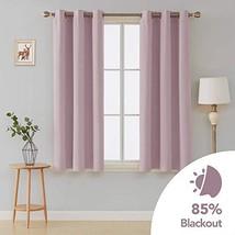 Deconovo Room Darkening Thermal Insulated Grommet Blackout Window Curtai... - $23.28
