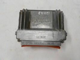 ENGINE CONTROL MODULE 99 Intrigue, 00 Impala 3.4 P/N 0799u21702 R166589 - $18.80