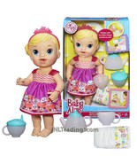 Year 2014 Baby Alive 12 Inch Doll Set - Caucasian TEACUP SURPRISE BABY - $59.99