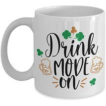 Funny Irish Coffee Mug Drink Mode On St Patricks Day Ceramic Novelty Cup... - $14.95+