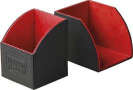 Dragon Shield Nest 100 Magnetic Deck Protector Gaming Box Black & Red - $24.75