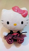 TY BEANIE BUDDY HELLO KITTY PUNK GOTHIC SKULL TUTU SKIRT 7in - $7.99