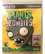 Plants vs. Zombies (Sony PlayStation 3, 2011) - $43.68
