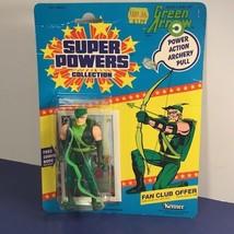 1985 KENNER GREEN ARROW ACTION FIGURE SUPER POWERS MOC OLIVER QUEEN DC C... - $273.49