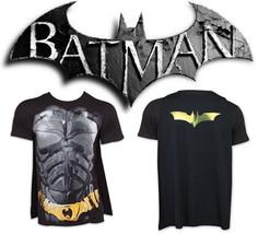 BATMAN Dark Knight Costume T-Shirt Mens With Cape DC Comics New Authentic S-2XL - $17.95+