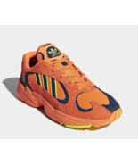 Adidas Yung 1 Total Orange Size 11 B37613 Goku Dragon Ball Z DBZ New  - $110.00